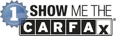 View the Free CARFAX Report (One Owner Vehicle!)