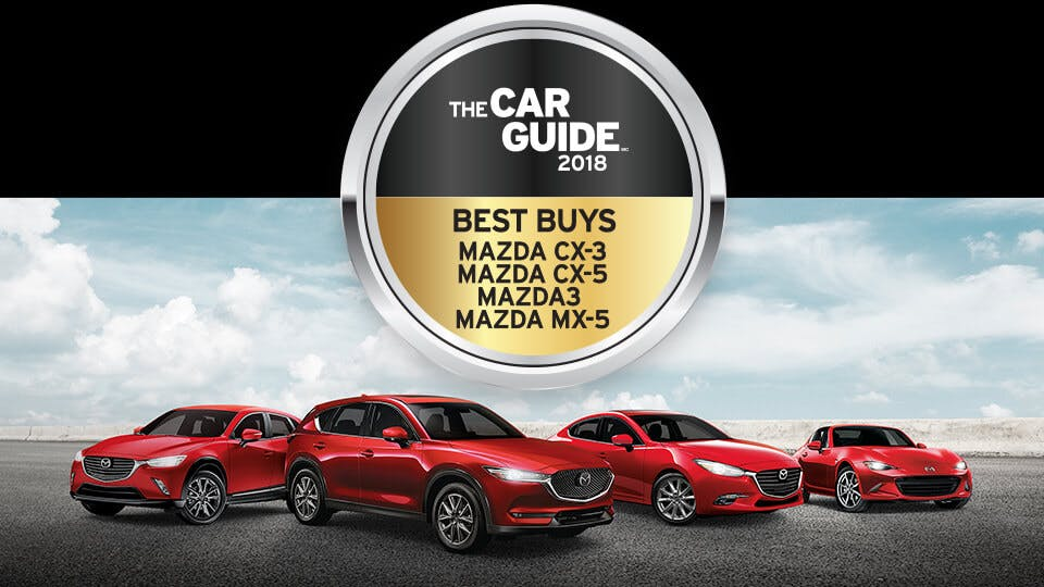Imagery of the Car Guide 2018 Best Buys Winners and medals