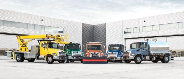 Hino truck lineup