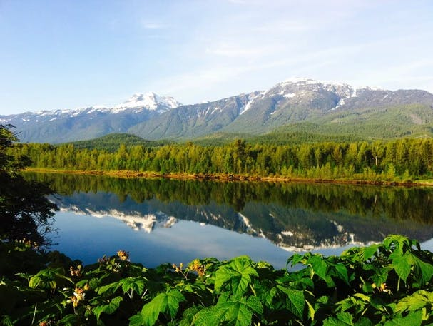 Views from Lamplighter Campground in Revelstoke, BC