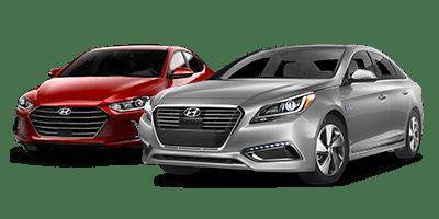 Hyundai genesis and accent