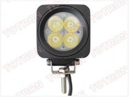 "2"" 10W Square LED Driving/Utility Light"