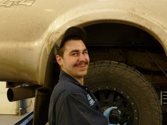Evan Johnston - Lube Technician