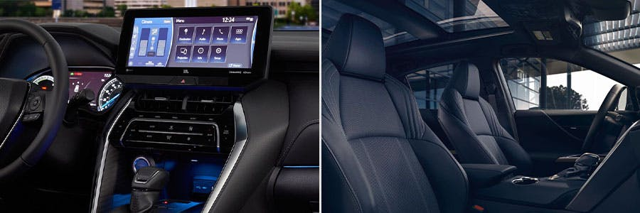 2021-Toyota-Venza-Touchscreen-and-Electrochromic-Glass-Roof