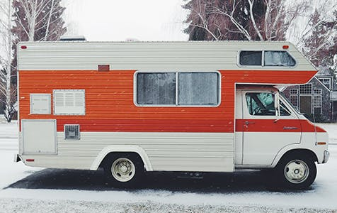 winter rv cleaning