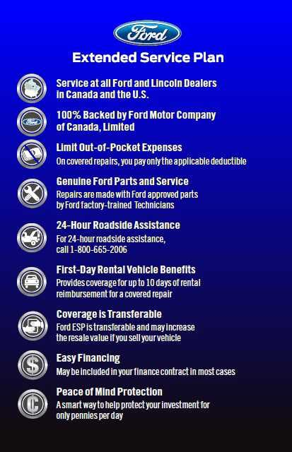 Ford Extended Warranty Premium Care >> Ford Extended Service Plans