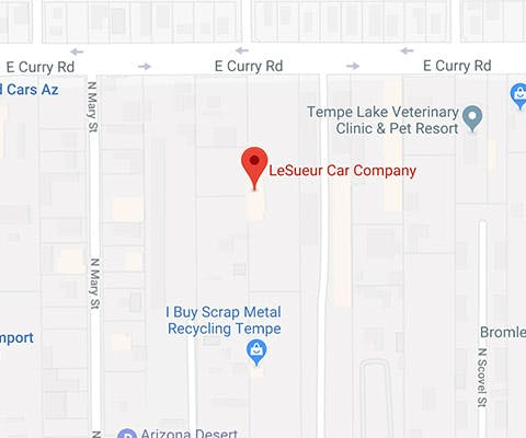 Welcome To LeSueur Car Company In Tempe AZ