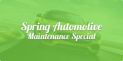 Fall Automotive Maintenance Special