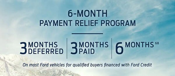 payment relief program with for financing