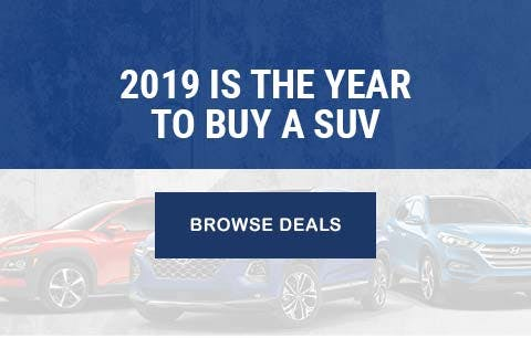 2019 is the year to buy a SUV