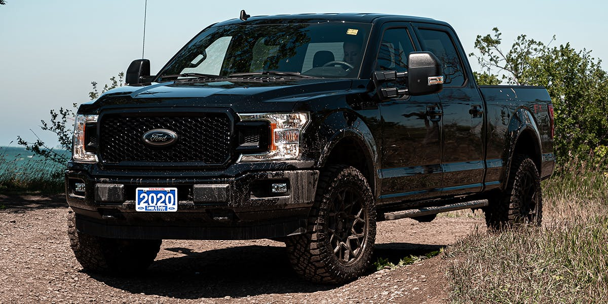 Ford f-150 exterior black custom