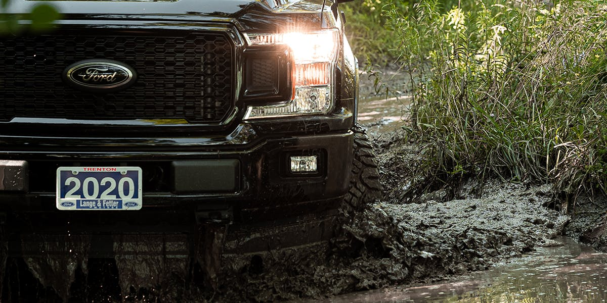 Ford f-150 off-roading