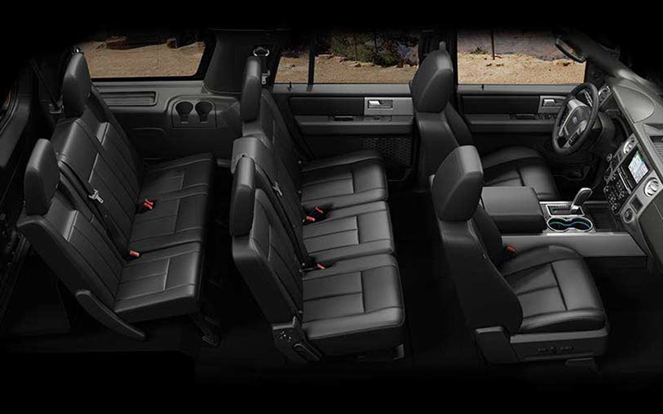 2017 Ford Expedition seating