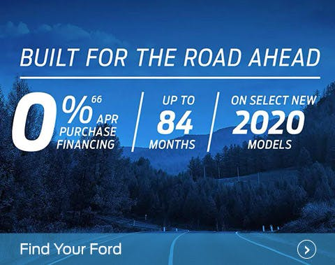 Built for the Road Ahead - Ford July incentive