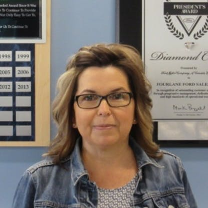 Sharon Davis - Fixed Operations Manager