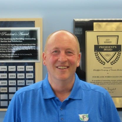 Steve Alward - Sales Manager